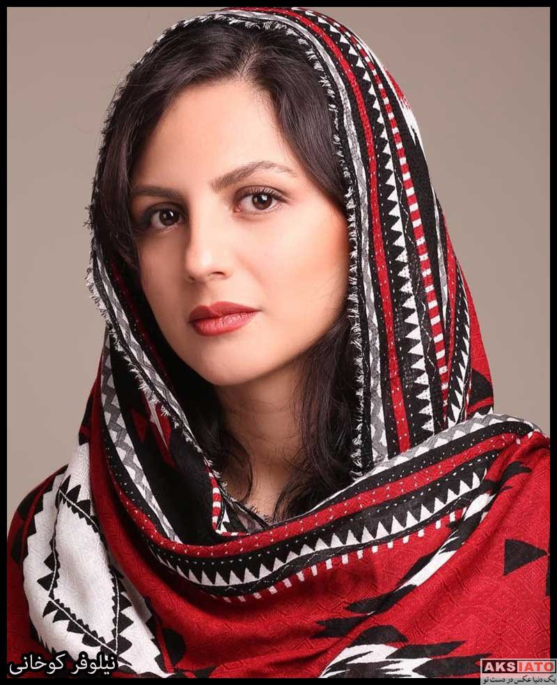 بازیگران بازیگران زن ایرانی  نیلوفر کوخانی بازیگر نقش تابان در سریال خانه امن (8 عکس)