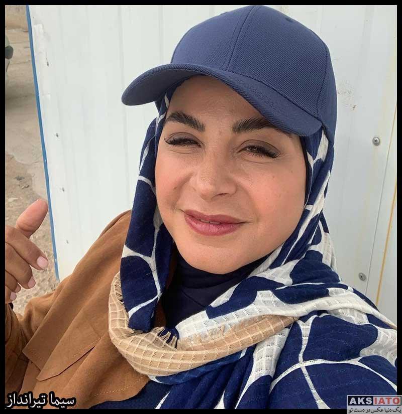 بازیگران بازیگران زن ایرانی  سیما تیرانداز بازیگر نقش ثمین هدایت در سریال خانه امن (6 عکس)