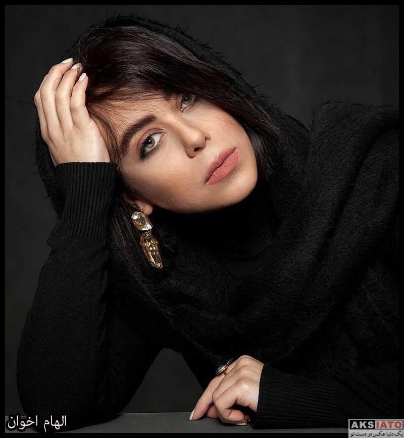 بازیگران بازیگران زن ایرانی  الهام اخوان بازیگر نقش گوهر در سریال باخانمان (8 عکس)