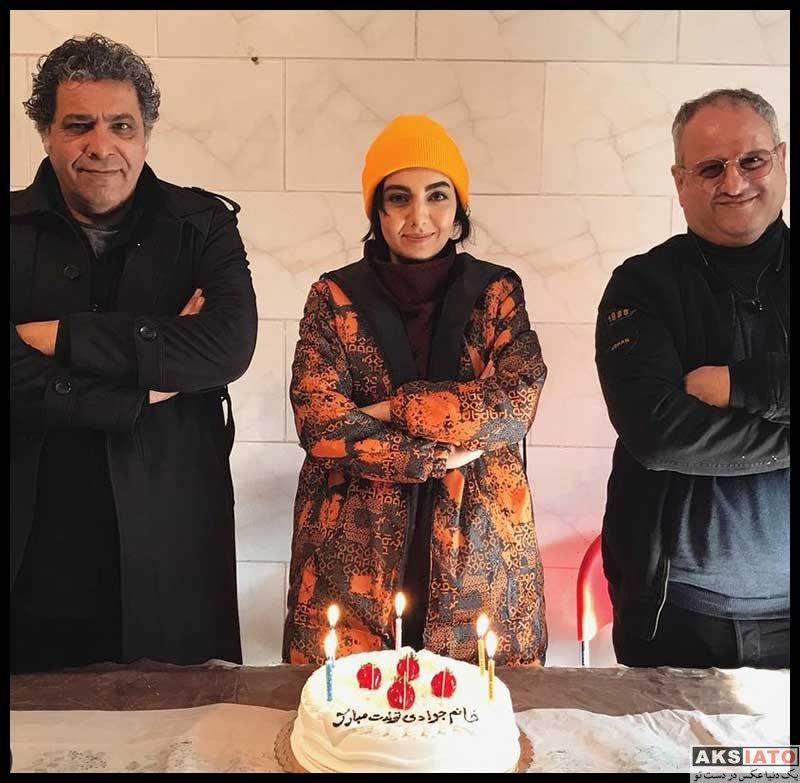 بازیگران بازیگران زن ایرانی  جشن تولد 25 سالگی مهشید جوادی (4 عکس)