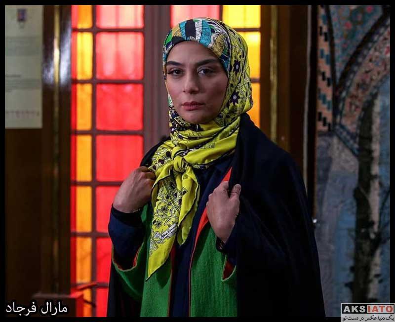بازیگران بازیگران زن ایرانی  مارال فرجاد بازیگر نقش سمانه در سریال باخانمان (۸ عکس)