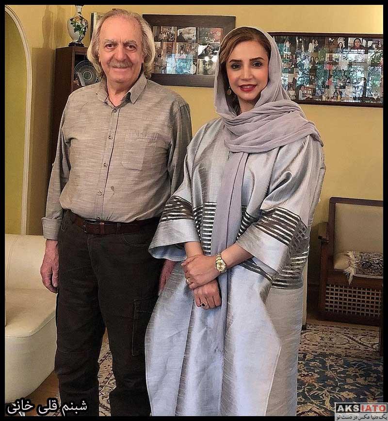 بازیگران بازیگران زن ایرانی  شبنم قلی خانی بازیگر نقش نسا در سریال بیگانه ای با من است (8 عکس)