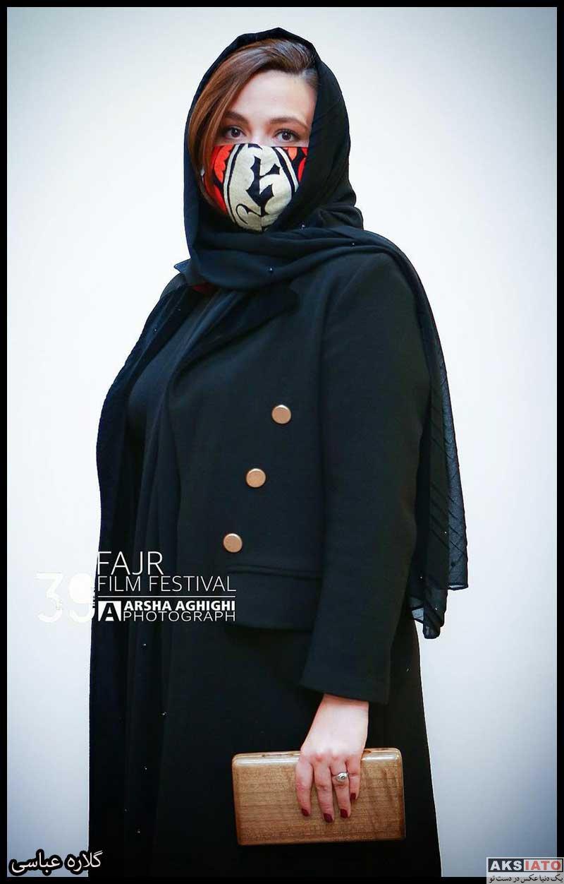 بازیگران جشنواره فیلم فجر  گلاره عباسی در سی و نهمین جشنواره فیلم فجر (۴ عکس)
