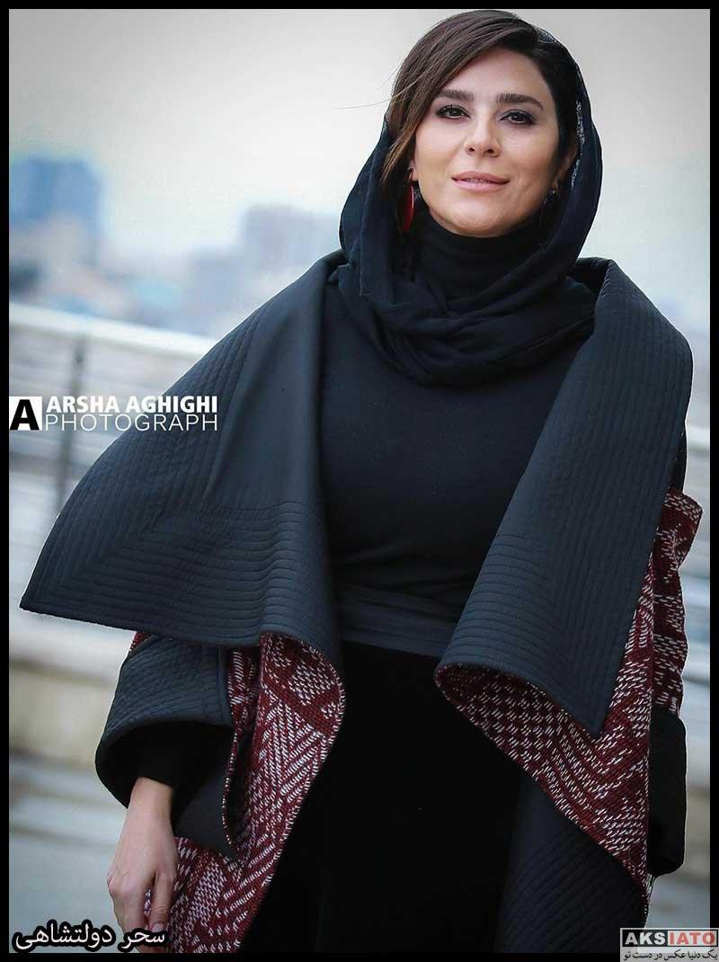 بازیگران جشنواره فیلم فجر  سحر دولتشاهی در سی و نهمین جشنواره فیلم فجر (6 عکس)