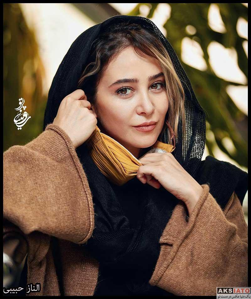 بازیگران جشنواره فیلم فجر  عکس های الناز حبیبی در سی و نهمین جشنواره فیلم فجر