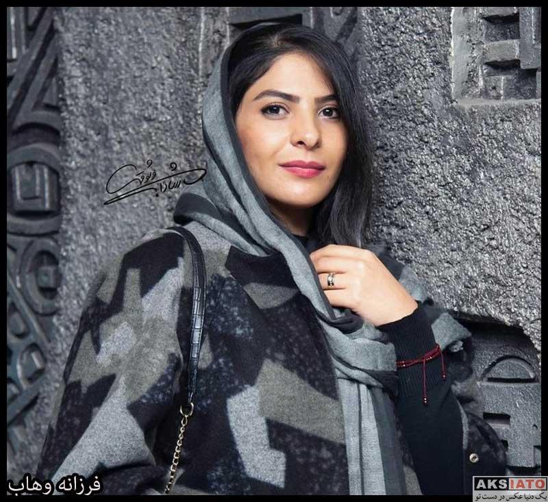 بازیگران جشنواره فیلم فجر  فرزانه وهاب در سه و نهمین جشنواره فیلم فجر (۳ عکس)