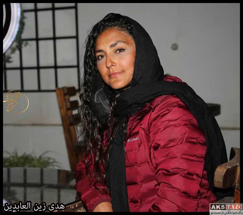 بازیگران بازیگران زن ایرانی  هدی زین العابدین در اکران فیلم زاوالا در آبادان (4 عکس)