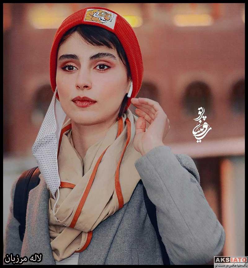 بازیگران بازیگران زن ایرانی  لاله مرزبان در اکران خصوصی فیلم روشن (۴ عکس)