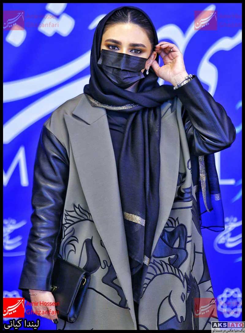 بازیگران جشنواره فیلم فجر  لیندا کیانی در سی و نهمین جشنواره فیلم فجر (۴ عکس)