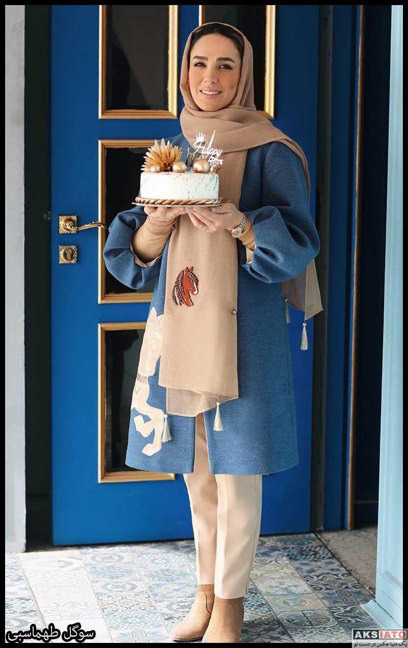 بازیگران جشن تولد ها  عکس های جشن تولد 35 سالگی سوگل طهماسبی