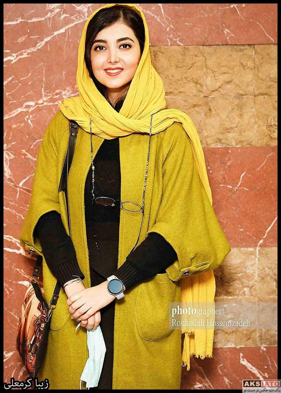 بازیگران جشنواره فیلم فجر  زیبا کرمعلی در سی و نهمین جشنواره فیلم فجر (3 عکس)