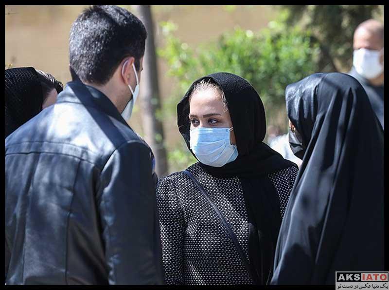 بازیگران درگذشتگان  تشییع پیکر مرحومه آزاده نامداری (18 عکس)
