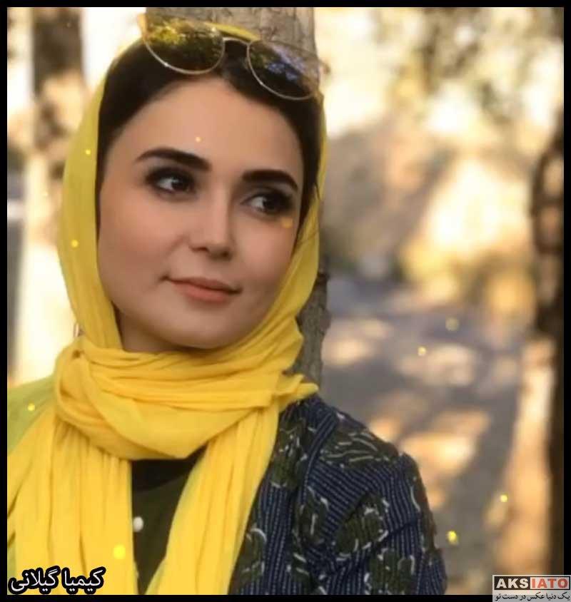 بازیگران مجریان  کیمیا گیلانی مجری برنامه دو در دو (6 عکس)