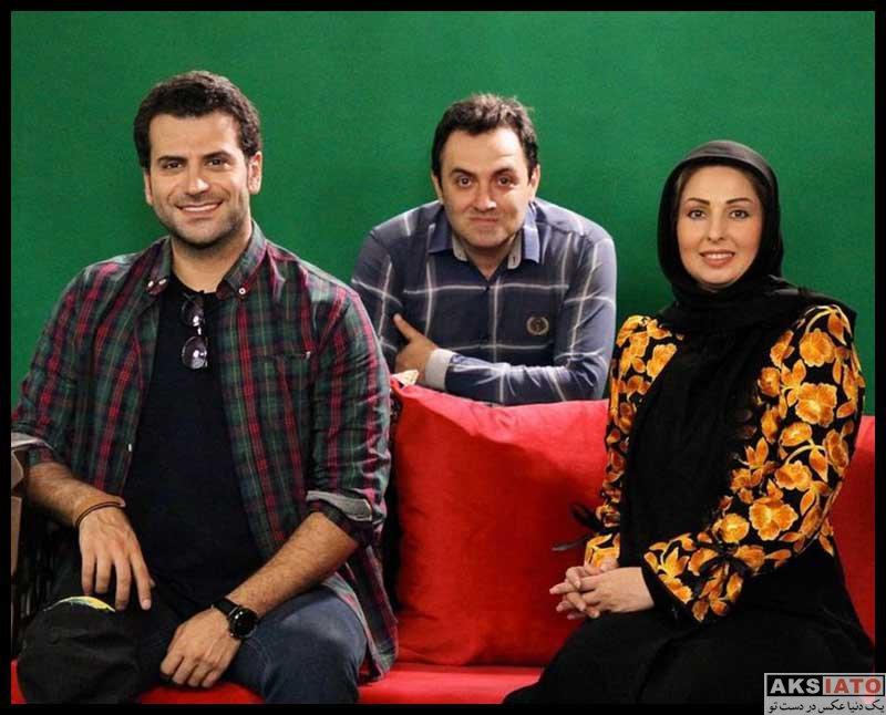 بازیگران مجریان  ندا غفاری مجری برنامه سلام در شبکه دو (6 عکس)