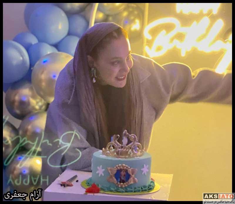 بازیگران جشن تولد ها  جسن تولد 40 سالگی آرام جعفری (4 عکس)