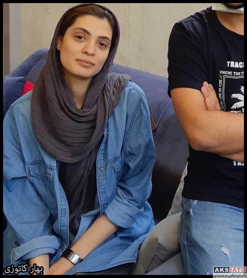 بازیگران بازیگران زن ایرانی  بهار کاتوزی بازیگر نقش هانیه در سریال چوب خط (8 عکس)