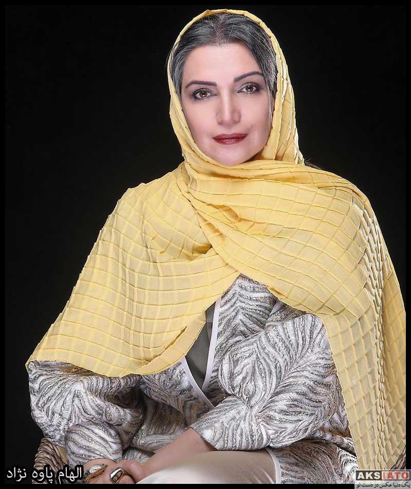 بازیگران بازیگران زن ایرانی  الهام پاوه نژاد بازیگر نقش نرگس در سریال چوب خط (۸ عکس)