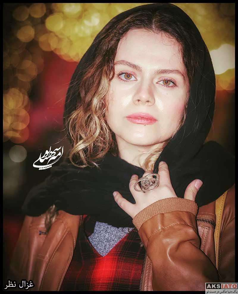 بازیگران بازیگران زن ایرانی  غزال نظر در اکران خصوصی فیلم پارمیدا (۴ عکس)