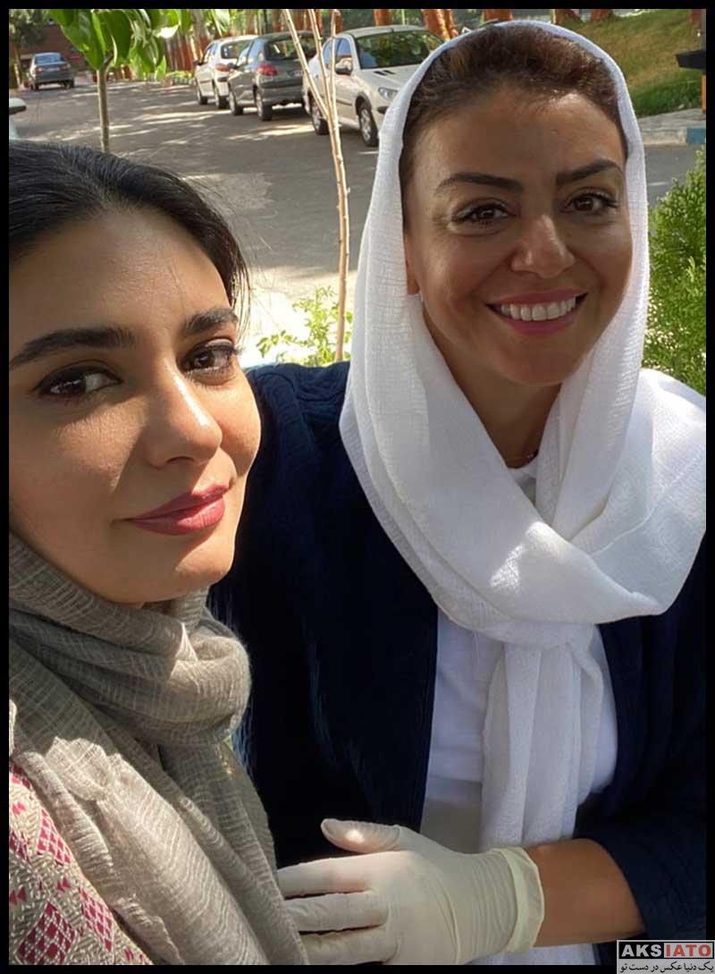 بازیگران بازیگران زن ایرانی  عکس های لیندا کیانی در بهمن و اسفند 99