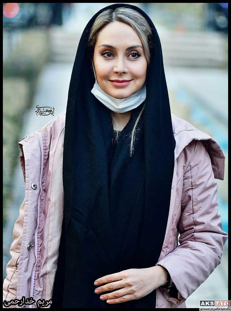 بازیگران بازیگران زن ایرانی  مریم خدارحمی در اکران خصوصی فیلم پارمیدا (4 عکس)
