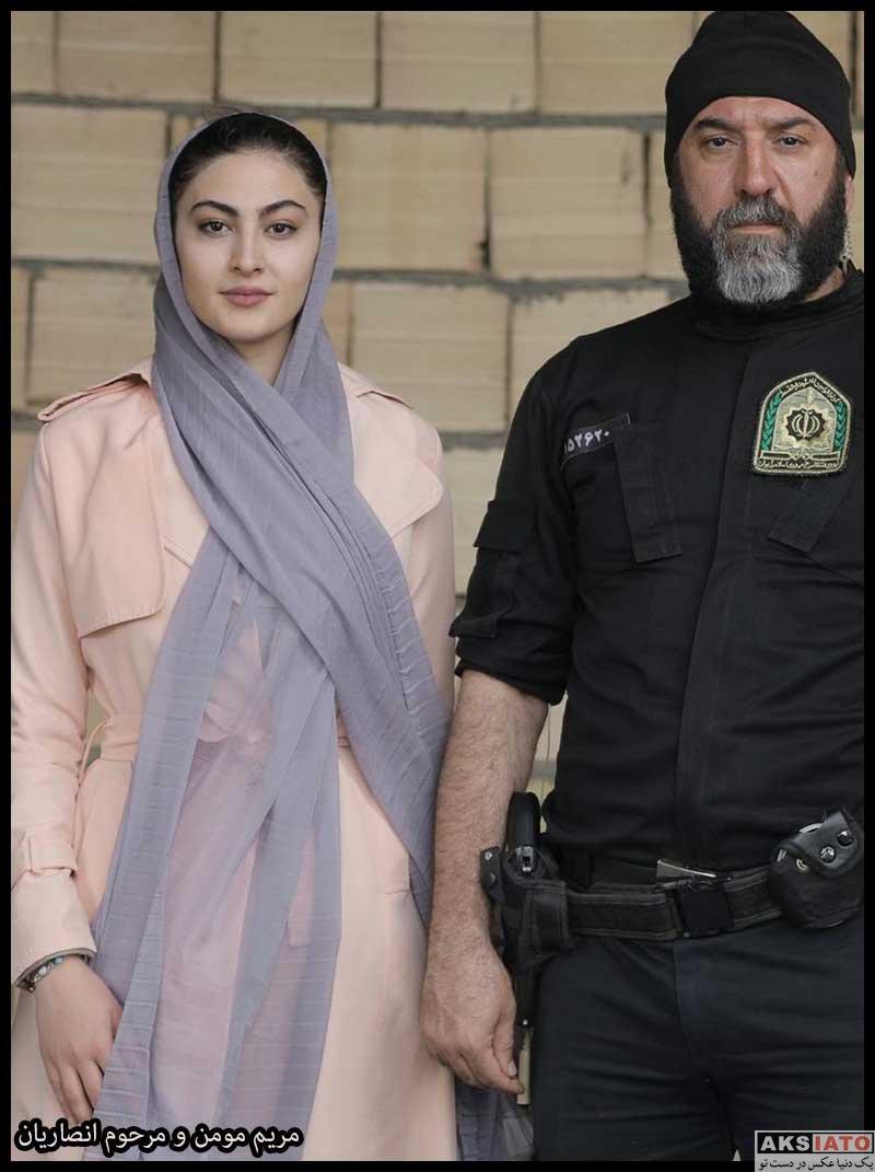 بازیگران بازیگران زن ایرانی  مریم مومن بازیگر نقش نوشین در سریال هم بازی (۸ عکس)