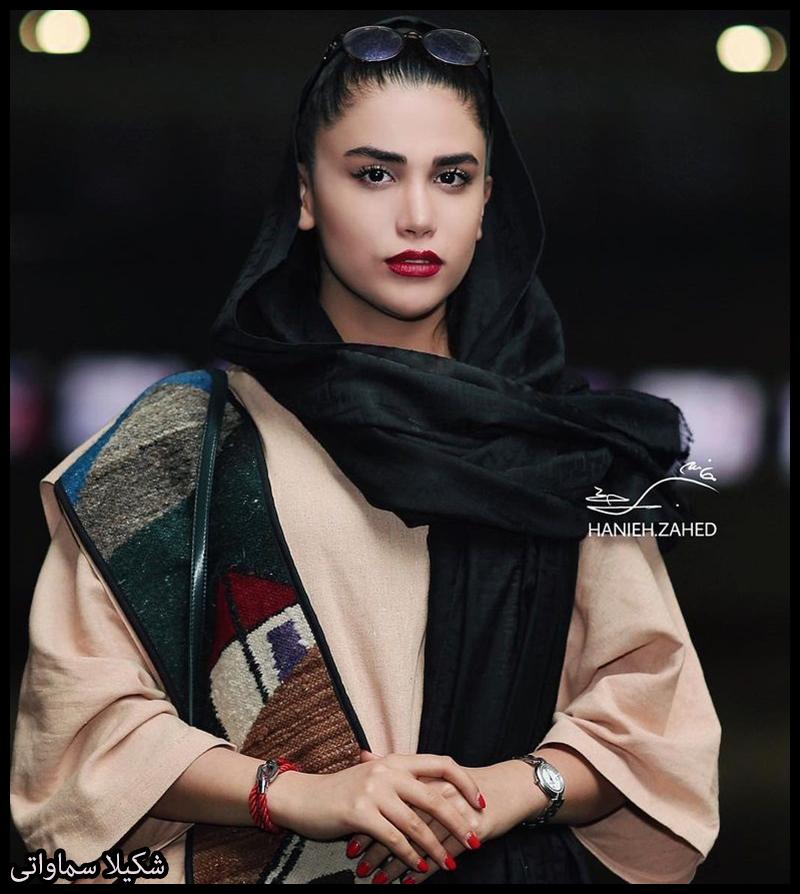 بازیگران بازیگران زن ایرانی  شکیلا سماواتی بازیگر نقش نیوشا کالفا در سریال دراکولا (7 عکس)