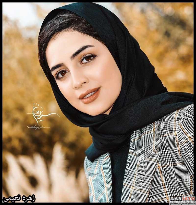 بازیگران بازیگران زن ایرانی  زهره نعیمی بازیگر نقش نرگس در سریال هم بازی (۸ عکس)