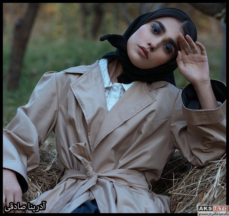 بازیگران بازیگران زن ایرانی  آدرینا صادقی بازیگر نقش مائده در سریال احضار (8 عکس)
