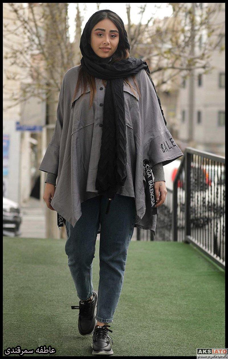 بازیگران بازیگران زن ایرانی  عاطفه سمرقندی بازیگر نقش طناز در سریال حورا (8 عکس)