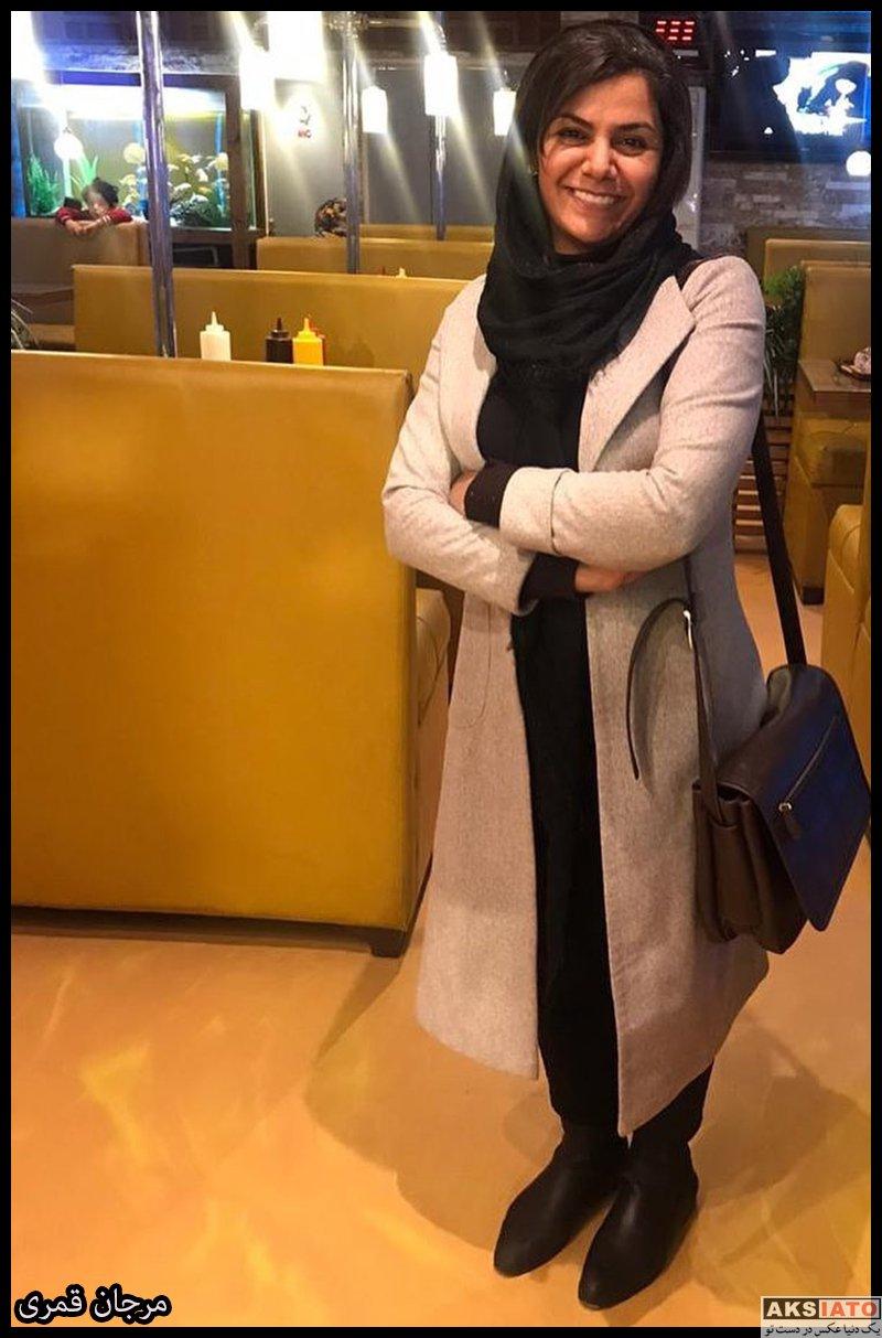 بازیگران بازیگران زن ایرانی  مرجان قمری بازیگر نقش ملیحه در سریال حورا (7 عکس)