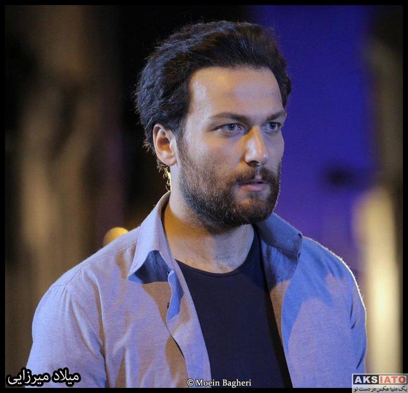 بازیگران بازیگران مرد ایرانی  میلاد میرزایی بازیگر نقش محسن کامرانی در سریال احضار (10 عکس)