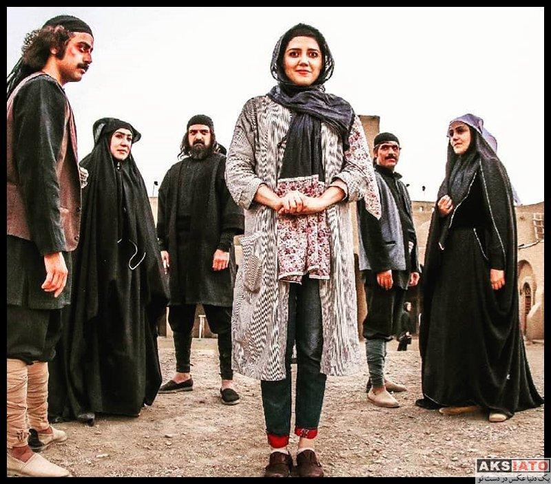 بازیگران بازیگران زن ایرانی  ندا عقیقی بازیگر نقش ماهور در سریال حورا (۸ عکس)