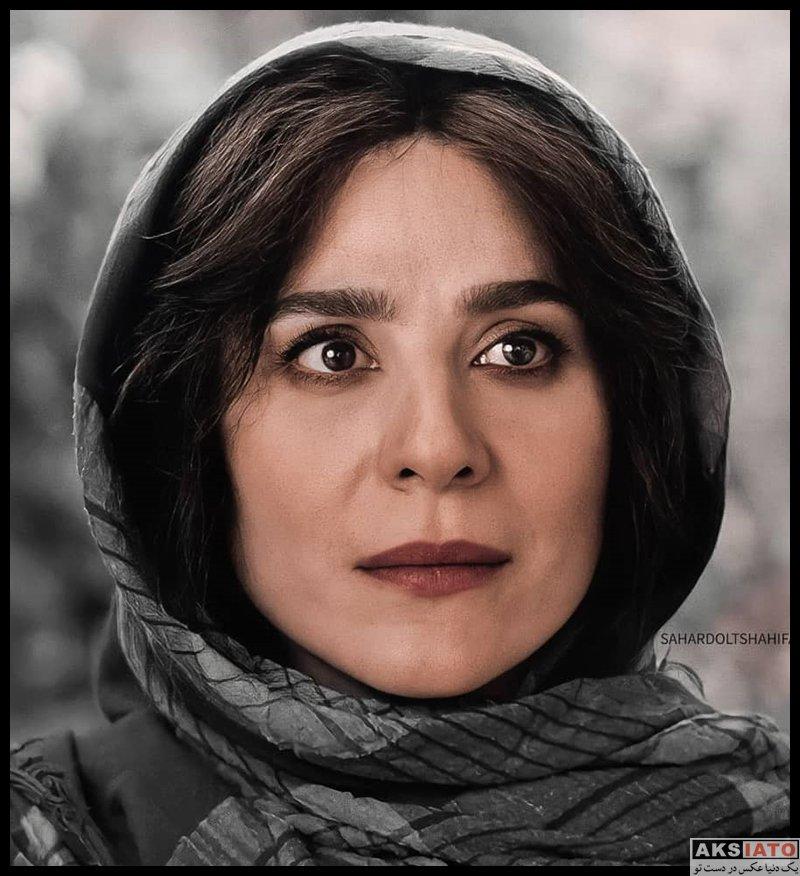 بازیگران بازیگران زن ایرانی  عکس های سحر دولتشاهی در سریال می خواهم زنده بانم