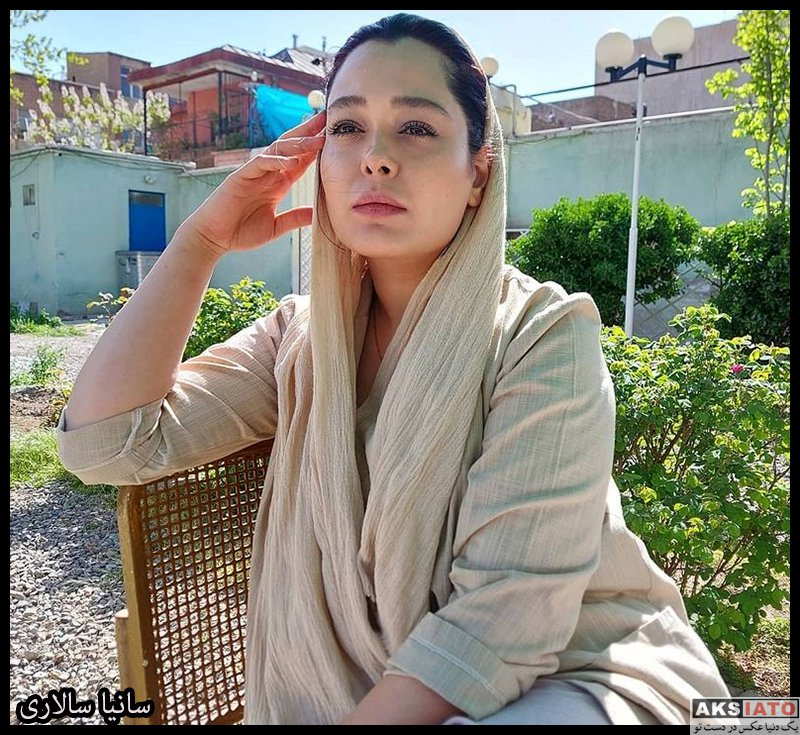 بازیگران بازیگران زن ایرانی  سانیا سالاری بازیگر نقش نازی هوشیار در سریال گیسو (8 عکس)