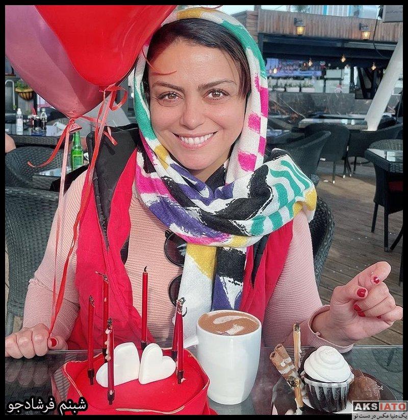بازیگران بازیگران زن ایرانی  شبنم فرشادجو بازیگر نقش نسرین در سریال یاور (۸ عکس)