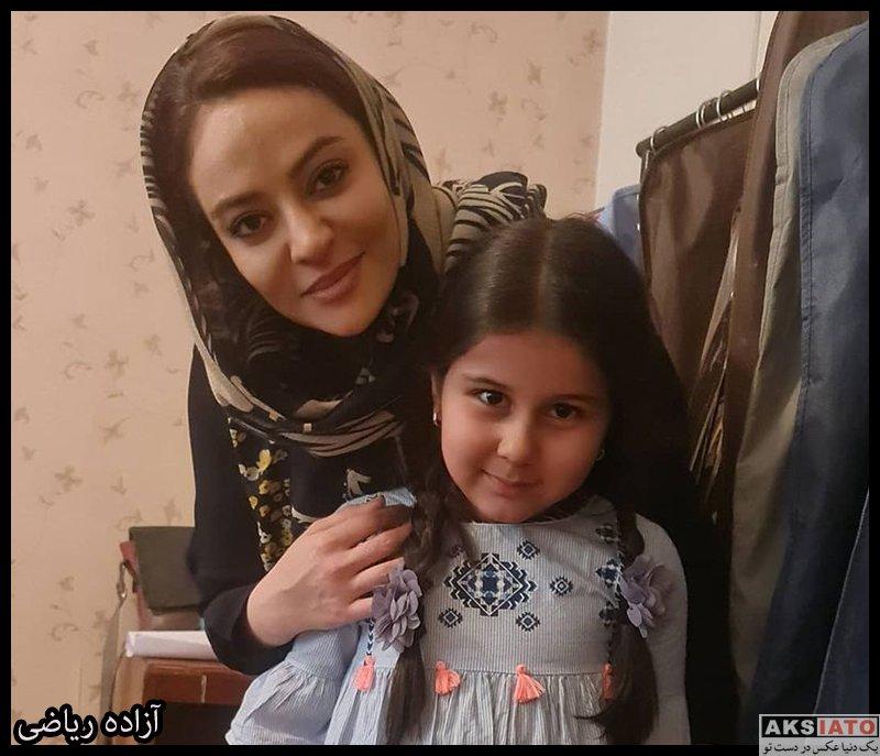 بازیگران بازیگران زن ایرانی  آزاده ریاضی بازیگر نقش مونا در سریال گیسو (8 عکس)