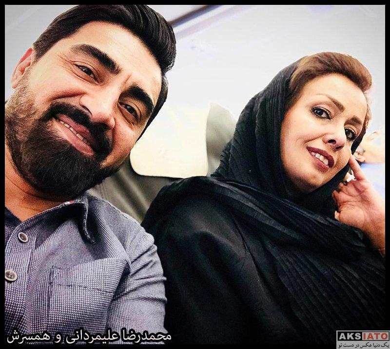 خانوادگی  محمدرضا علیمردانی مجری شب های مافیا و همسرش (3 عکس)
