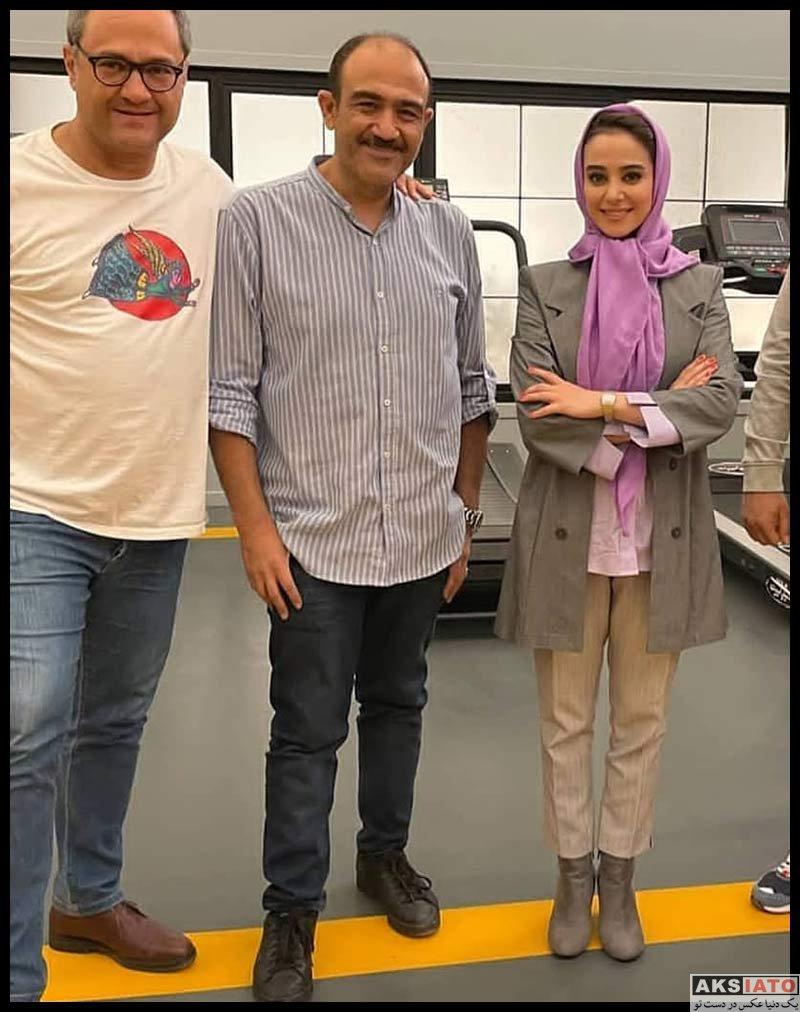 بازیگران بازیگران زن ایرانی  الناز حبیبی بازیگر نقش رومینا نادری در سریال مردم معمولی (7 عکس)