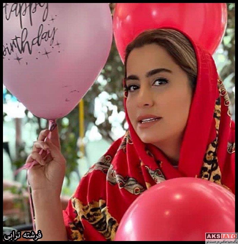 بازیگران بازیگران زن ایرانی  فرشته ترابی بازیگر مجموعه دست انداز (7 عکس)