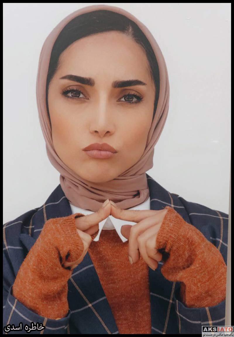 بازیگران بازیگران زن ایرانی  خاطره اسدی بازیگر نقش ستاره در سریال مردم معمولی (7 عکس)