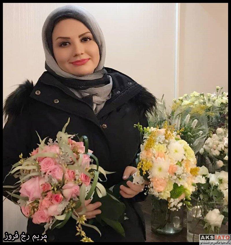 بازیگران مجریان  مریم رخ فروز مجری برنامه ترانه باران (6 عکس)