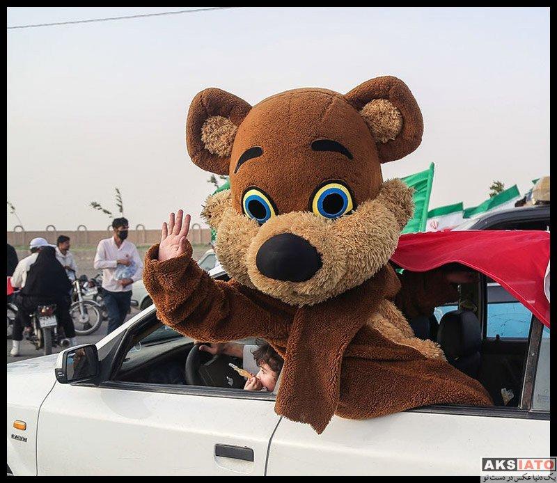 عکس های گوناگون  جشن پیروزی هواداران آیت الله رئیسی (20 عکس)