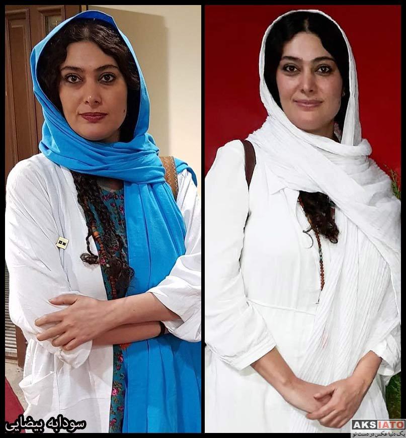 بازیگران بازیگران زن ایرانی  سودابه بیضایی بازیگر نقش شیرین در سریال کلبه ای در مه (۸ عکس)