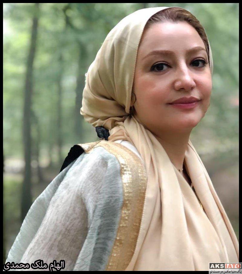بازیگران مجریان  الهام ملک محمدی گوینده خبر شبکه خبر (8 عکس)