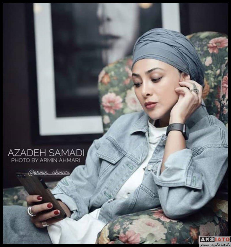بازیگران بازیگران زن ایرانی  آزاده صمدی در سال 1400 (12 عکس)