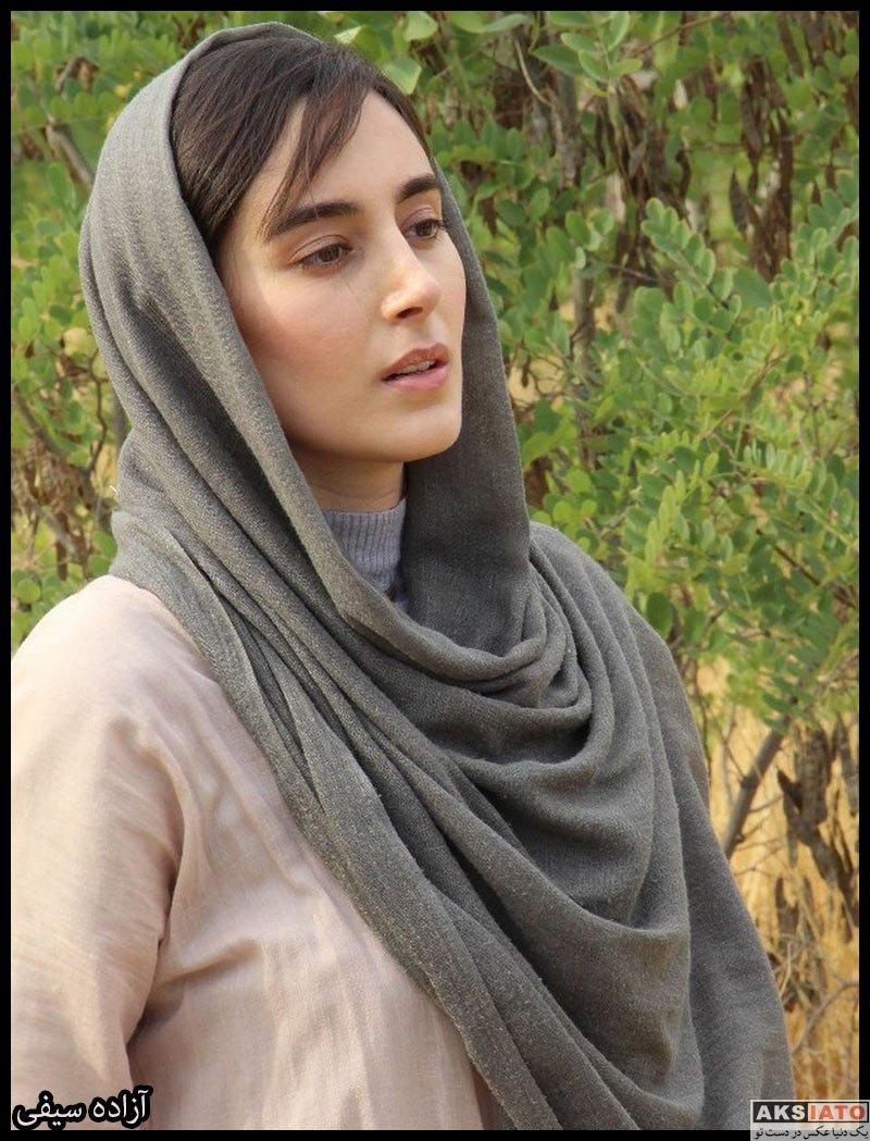 بازیگران بازیگران زن ایرانی  آزاده سیفی بازیگر نقش نورا در سریال هم سایه (۸ عکس)